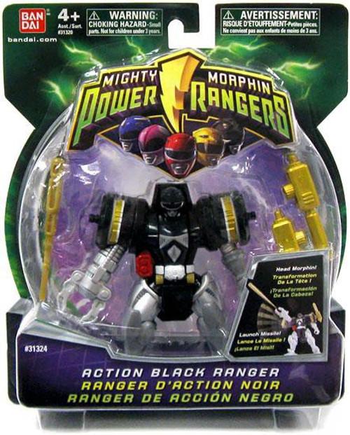 Power Rangers Mighty Morphin Action Black Ranger Action Figure