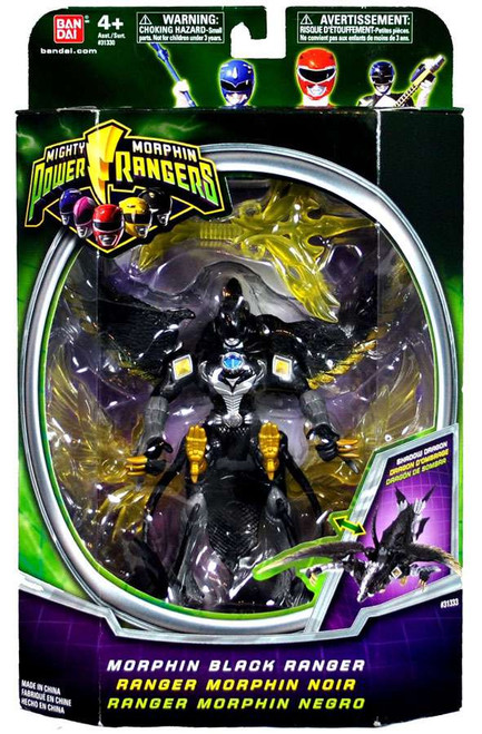 Power Rangers Mighty Morphin Morphin Black Ranger Action Figure