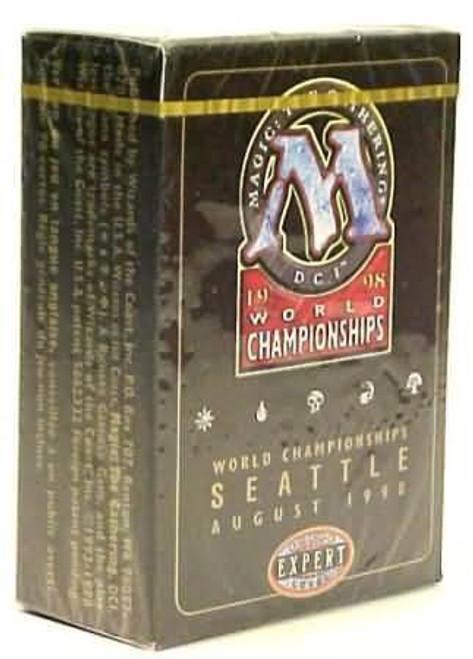 MtG Trading Card Game 1998 World Championship Ben Rubin Championship Deck