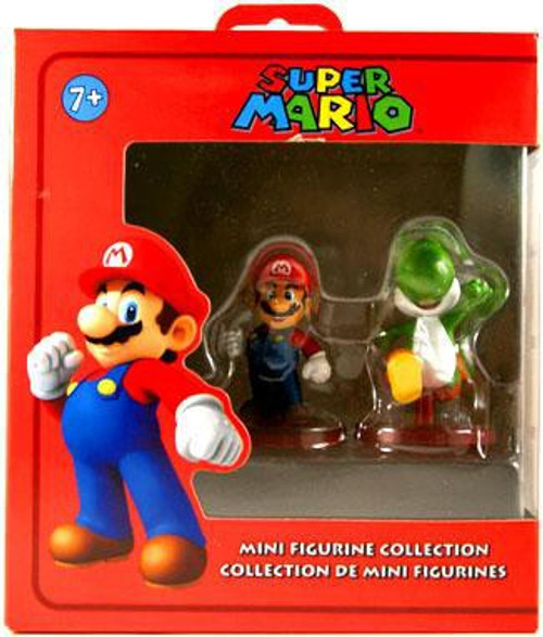 Super Mario Mario & Yoshi Mini Figure 2-Pack