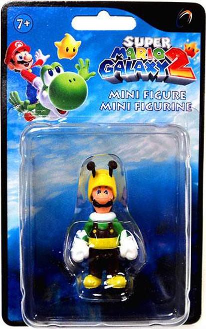 Super Mario Galaxy 2 Series 1 Luigi Mini Figure [Bee]