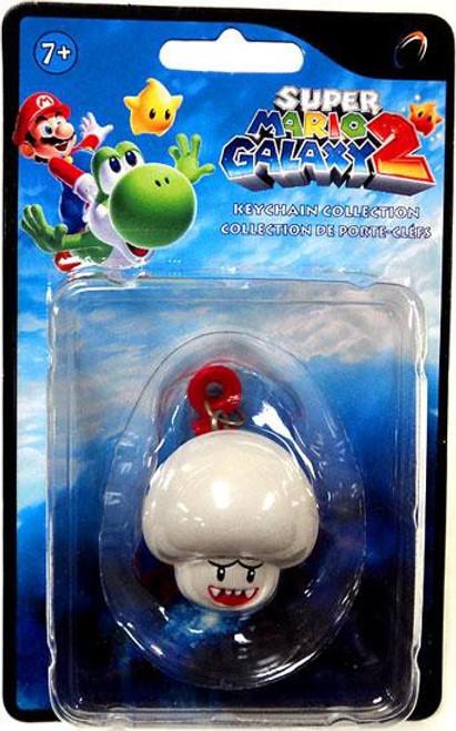 Super Mario Galaxy 2 Boo Mushroom Keychain