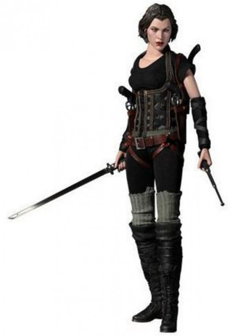 Resident Evil Afterlife 3D Movie Masterpiece Alice Collectible Figure