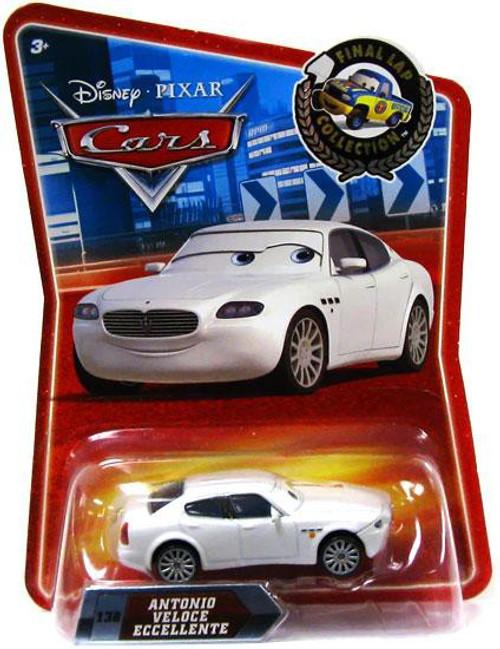 Disney / Pixar Cars Final Lap Collection Antonio Veloce Eccellente Exclusive Diecast Car