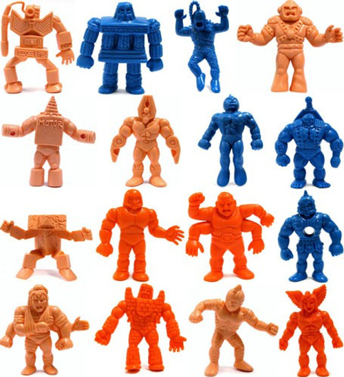M.U.S.C.L.E. MUSCLE Toys Set of 16 2-Inch PVC Figures