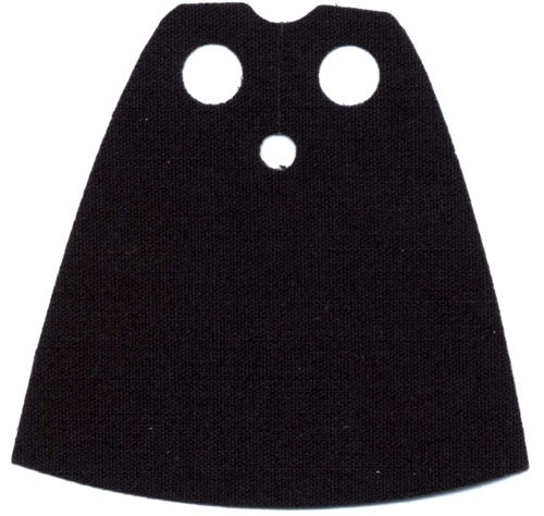 LEGO Capes Black Cloth Cape [Loose]