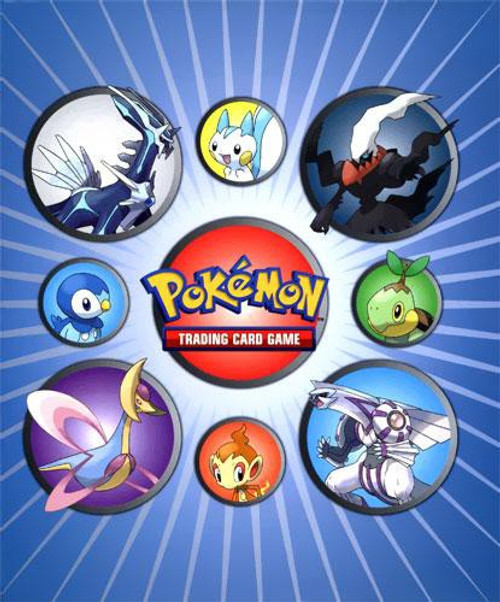 Nintendo Pokemon Platinum Card Supplies Darkrai, Palkia, Dialga & Cresselia 4-Pocket Binder