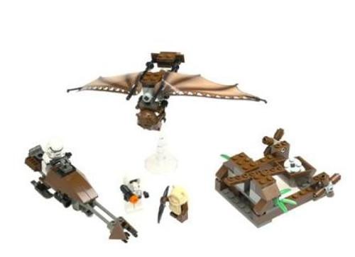 LEGO Star Wars Ewok Attack Set #7139 [Loose, No Minifigures]