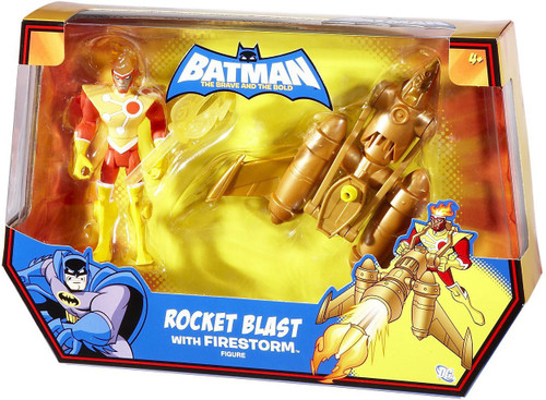 Batman The Brave and the Bold Rocket Blast with Firestorn Action Figure Set