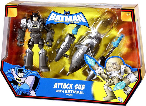 The Brave and the Bold Attack Sub with Batman Action Figure Set