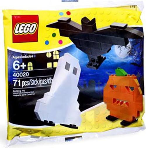 LEGO Ghost, Pumpkin & Bat Mini Set #40020 [Bagged]