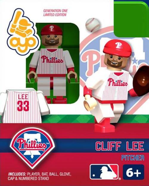 Philadelphia Phillies MLB Generation One Cliff Lee Minifigure