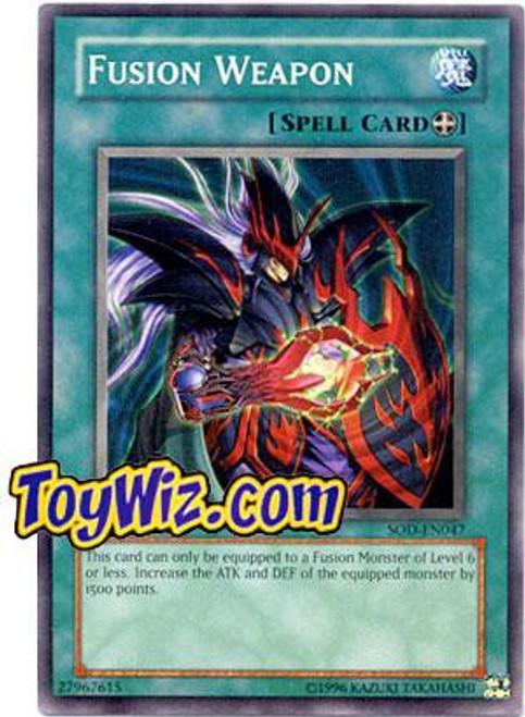 YuGiOh Soul of the Duelist Common Fusion Weapon SOD-EN047