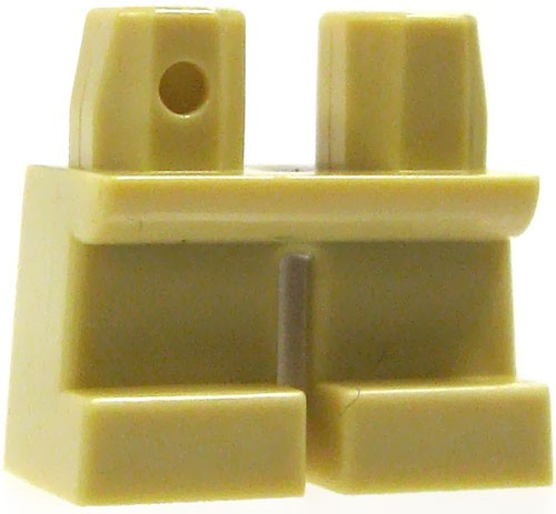 LEGO Short Tan Loose Legs [Loose]