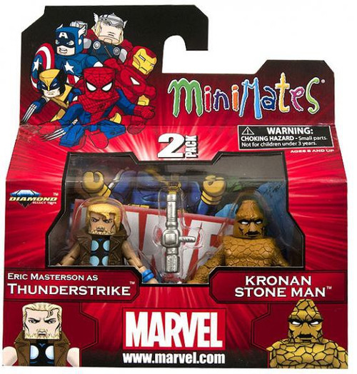 Marvel Minimates Series 42 Eric Masterson as Thunderstrike & Kronan Stone Man Minifigure 2-Pack