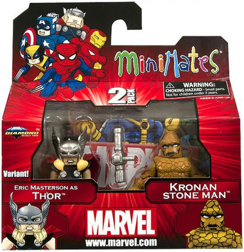 Marvel Minimates Series 42 Eric Masterson as Thor & Kronan Stone Man Minifigure 2-Pack