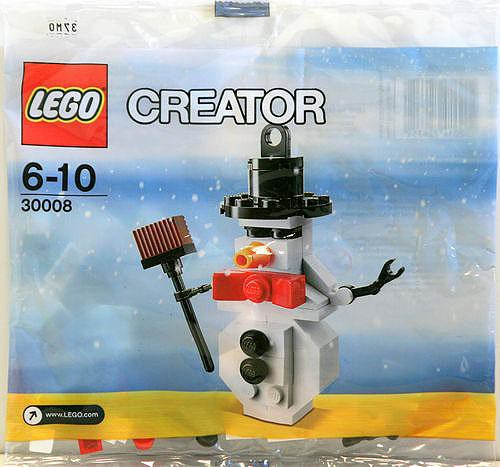 LEGO Creator Snowman Mini Set #30008 [Bagged]