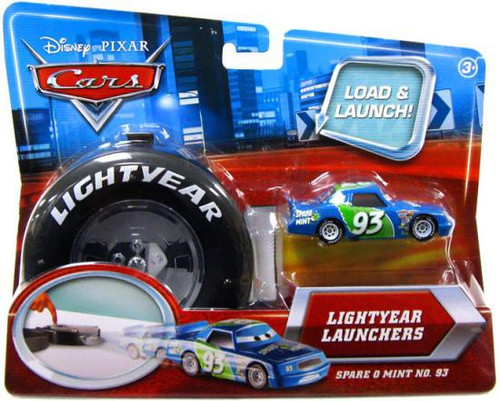 Disney / Pixar Cars Lightyear Launchers Spare O Mint No. 93 Diecast Car