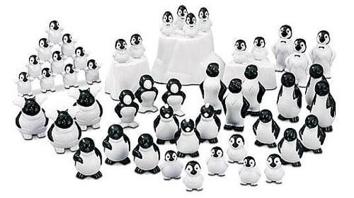 Happy Feet Bucket of Penguins & Icebergs