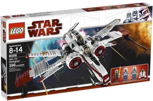 LEGO Star Wars The Clone Wars ARC-170 Starfighter Set #8088