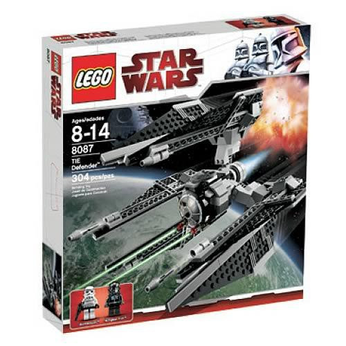 LEGO Star Wars The Clone Wars TIE Defender Set #8087