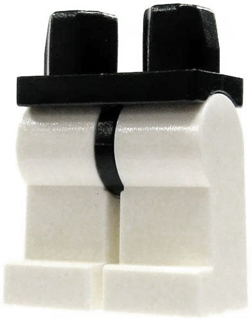LEGO Star Wars Black Hips with White Legs Loose Legs [Loose]
