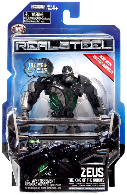 Real Steel Series 2 Zeus Action Figure [The King of Robots]