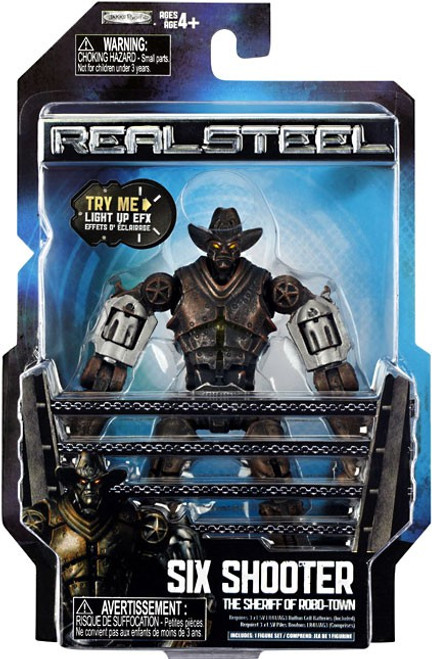Real Steel Series 2 Six Shooter Action Figure [The Sheriff of Robo-Town]