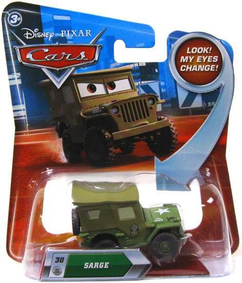 Disney / Pixar Cars Lenticular Eyes Series 2 Sarge Diecast Car