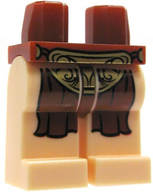 LEGO Star Wars Light Flesh with Dark Red Loincloth Loose Legs [Slave Leia Loose]