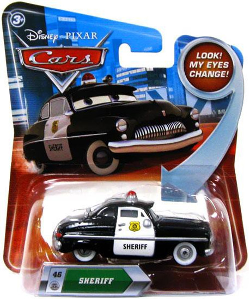 Disney / Pixar Cars Lenticular Eyes Series 2 Sheriff Diecast Car