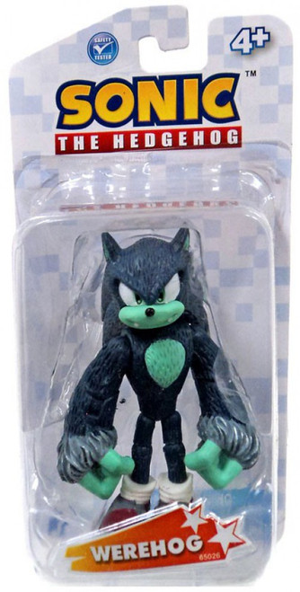 Sonic The Hedgehog Sonic Action Figure [Werehog]