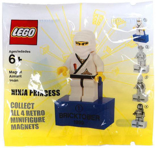 LEGO Exclusives Ninja Princess Exclusive Minifigure Magnet #1