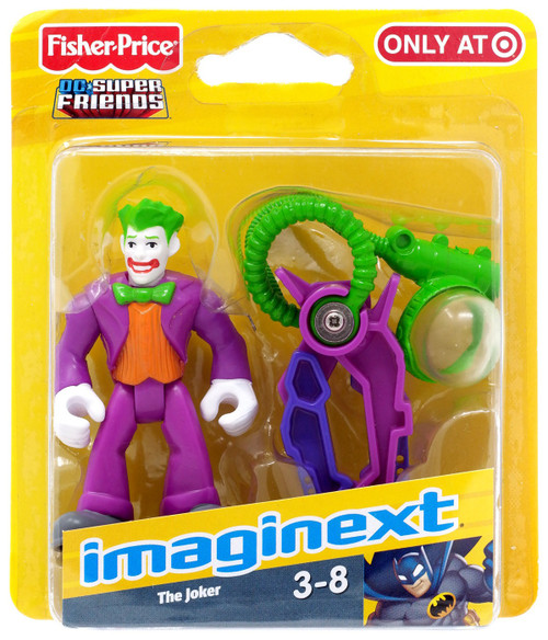 Fisher Price DC Super Friends Imaginext The Joker Exclusive 3-Inch Mini Figure