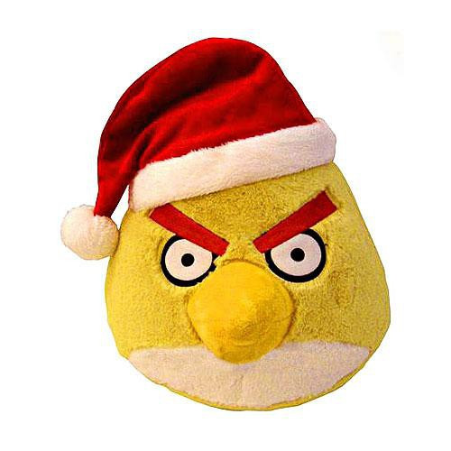 Angry Birds Yellow Bird 5-Inch Plush [Christmas]