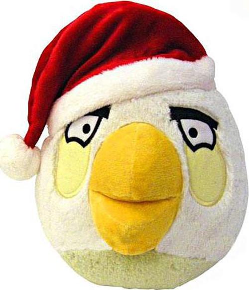 Angry Birds White Bird 8-Inch Plush [Christmas]