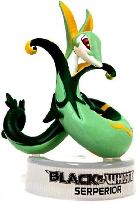 Nintendo Pokemon Black & White Serperior 1.5-Inch PVC Figure