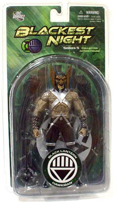 DC Green Lantern Blackest Night Series 5 Black Lantern Hawkman Action Figure