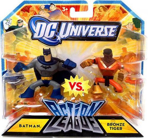 DC Universe Action League Batman & Bronze Tiger 3-Inch Mini Figures