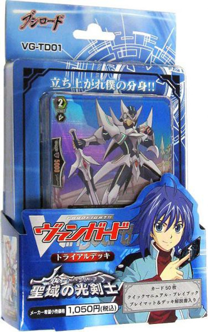 Cardfight Vanguard Trading Card Game Blaster Blade Trial Deck VG-TD01 [Japanese]