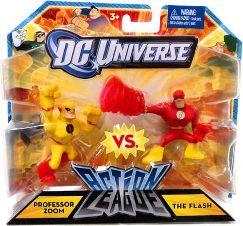 DC Universe Action League Professor Zoom & The Flash 3-Inch Mini Figures