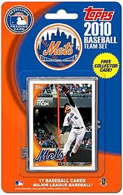 MLB 2010 Topps Baseball Cards New York Mets Exclusive Team Set
