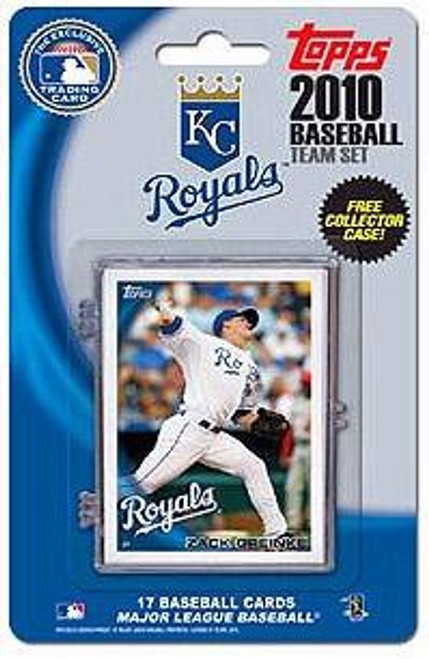 MLB 2010 Topps Baseball Cards Kansas City Royals Exclusive Team Set