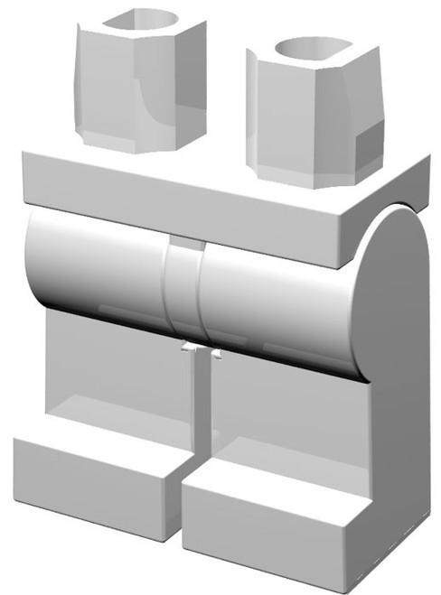 LEGO White Loose Legs [Loose]