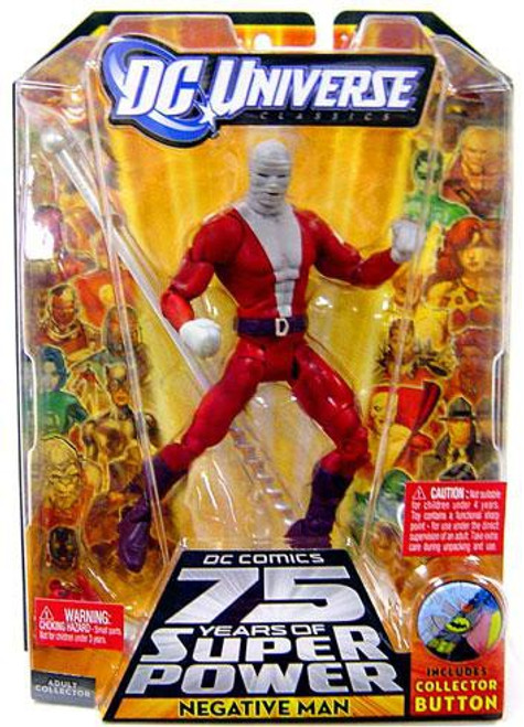 DC Universe 75 Years of Super Power Classics Trigon Series Negative Man Action Figure [With Bandages]