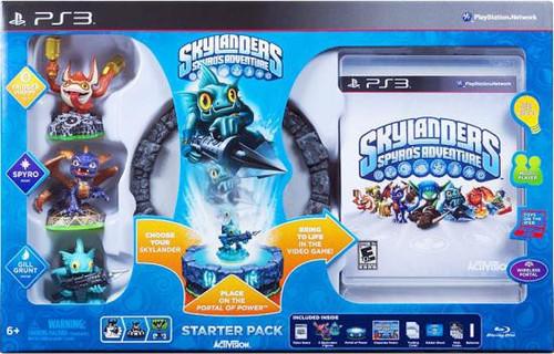 Skylanders PS3 Spyro's Adventure Starter Pack