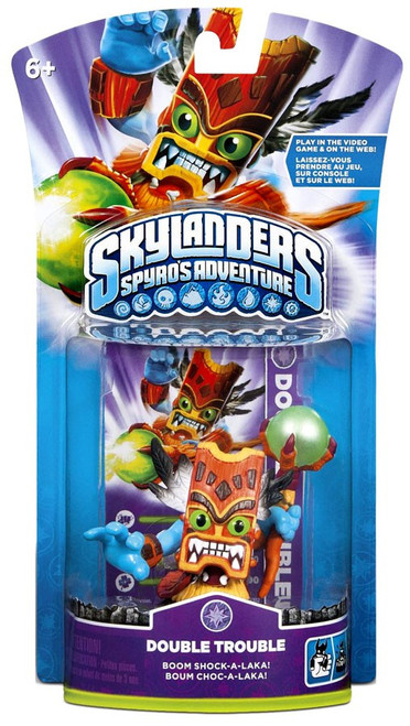 Skylanders Spyro's Adventure Double Trouble Figure Pack