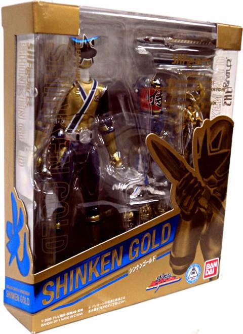 Power Rangers Samurai S.H. Figuarts Shinken Gold Exclusive Action Figure