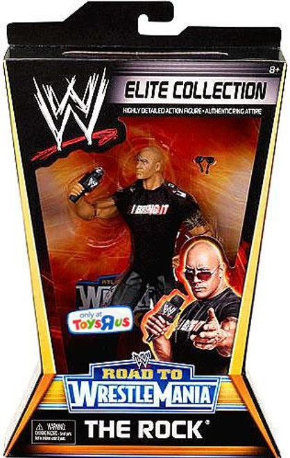 WWE Wrestling Elite Collection WrestleMania 27 The Rock Exclusive Action Figure