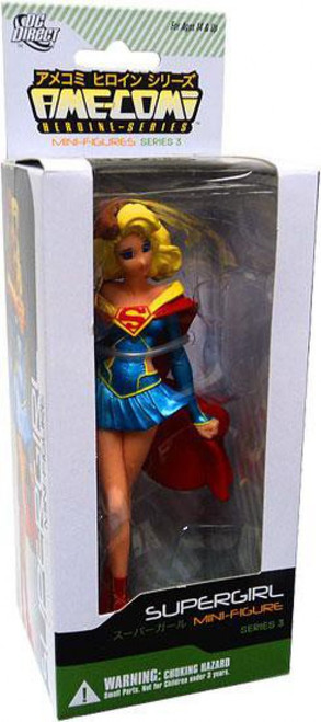 DC Ame-Comi Heroine Mini Figures Series 3 Supergirl PVC Mini Figure